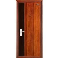 Usa interior metalica BestImp A11, stanga/dreapta, stejar inchis + wenge, 202 x 88 cm