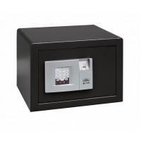 Seif mobila Burg Wachter Pointsafe P 2 E FS, electronic cu 2 bolturi, din otel, negru, 350 x 300 x 255 mm