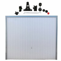 Usa garaj basculanta Hormann Light, alb (RAL 9016), 2500 x 2125 mm + actionare electrica usa garaj Liftronic 500