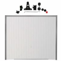 Usa garaj basculanta Hormann Light GSL, alb (RAL 9016), 2500 x 2125 mm + actionare electrica usa garaj Liftronic 500