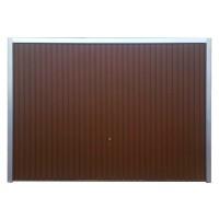 Usa garaj basculanta Hormann Light, maro (RAL 8028), 2500 x 2125 mm