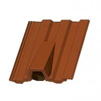 Tigla aerisire Markant brun roscat, 330 x 420 mm