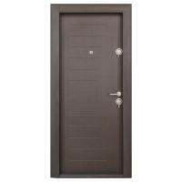 Usa interior metalica Erclass Elegant 12, stanga, wenge, 201 x 88 cm