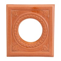 Placa medalion teracota gaura capac alun