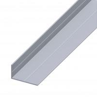 Profil aluminiu L, 2500 x 19.5 x 35.5 x 1.5 mm