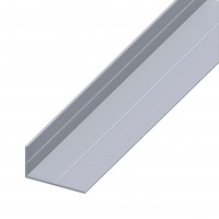 Profil aluminiu L, 1000 x 11.5 x 19.5 x 1.5 mm