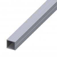 Teava aluminiu patrata 1000 x 15.5 x 15.5 x 1.5 mm