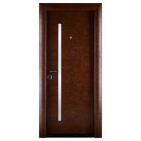 Usa interior metalica Elite 1020, dreapta, maro stone, 200 x 88 cm