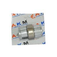 Prelungitor teava P1, aluminiu eloxat, bronz, 50 mm