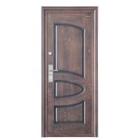 Usa interior metalica BestImp L05, stanga/dreapta, maro mat, 202 x 88 cm
