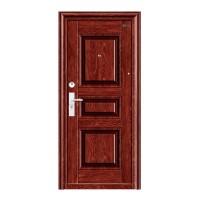 Usa interior metalica BestImp L06, stanga/dreapta, maro mat, 202 x 88 cm