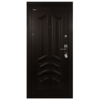 Usa interior metalica BestImp L07, stanga/dreapta, wenge, 202 x 88 cm