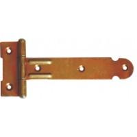 Balama pentru porti si casute, zinc galben, 118 x 24 mm