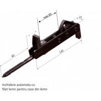 Blocator pentru obloane contravant pentru lemn, 130 x 15 mm