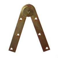 Balama pentru scara zugrav, zincat, 150 x 25 mm