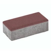 Pavaj rezidential Elpreco, Civic, rosu, 200 x 100 x 40 mm