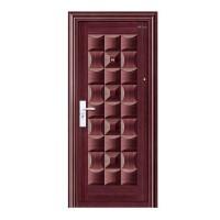 Usa interior metalica BestImp A05, stanga/dreapta, mahon, 202 x 88 cm