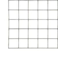 Panou zincat Edilplan diametru 3 mm, 1000 x 2000 mm, ochi 50 x 50 mm