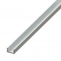 Profil aluminiu U, 1000 x 22 x 10 x 10 x 1.5 mm