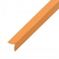 Cornier PVC cu adeziv, fag, 1000 x 20 x 20 x 1 mm