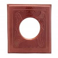 Placa medalion teracota gaura capac maro