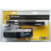 Amortizor usa, hidraulic, Seria 300, negru, 80-100 kg