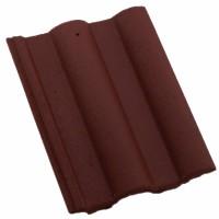 Tigla de beton 1/1 Bramac Skandia, maro roscat