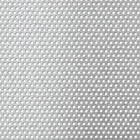 Tabla aluminiu perforata, perforatii rotunde, 3-5 1 x 1000 x 1000 mm