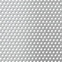Tabla aluminiu perforata, perforatii rotunde, 5-8 1 x 1000 x 1000 mm
