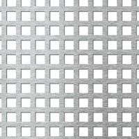 Tabla aluminiu perforata, perforatii patrate, 10-15 1 x 1000 x 1000 mm