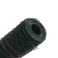 Plasa rabitz Grunman, PVC, verde, 0,5 x 10 m