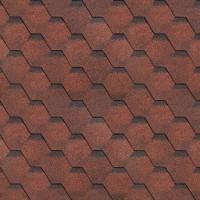 Sindrila bituminoasa Finlandeza hexagon rosu / negru