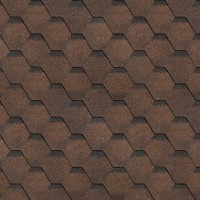 Sindrila bituminoasa Finlandeza hexagon maro / negru
