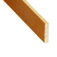 Rigla rindeluita lemn pin 1200 x 44 x 7 mm