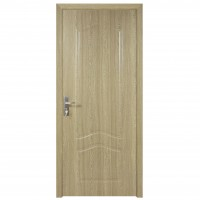 Usa de interior din lemn, Super Door F04-78-P, stanga / dreapta, gri, 203 x 78 cm