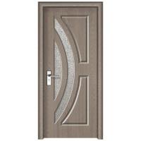 Usa de interior din lemn cu geam Super Door F11-78-P stanga / dreapta gri 203 x 78 cm