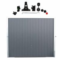 Usa garaj basculanta Hormann Light, gri antracit (RAL 7016), 2500 x 2125 mm + actionare electrica usa garaj Liftronic 500