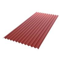 Placa ondulata bituminoasa Gutta Guttanit K11, rosu-brun, 30 x 830 x 2000 mm