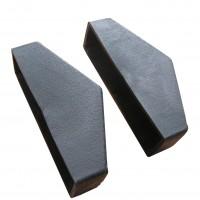 Protectie pentru scara de mansarda Profil, cauciuc, neagra, 8.5 x 2.5 x 3.5 cm