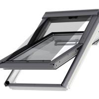 Rulou exterior tip parasolar fereastra mansarda Velux F00-FK00 5060, negru
