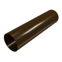 Burlan scurgere Regenau, PVC, maro, 3 m, D 80 mm