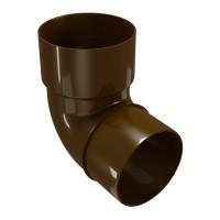 Cot burlan Regenau, PVC, maro, circular, D 80 mm, 87.5 grade