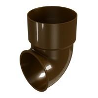 Cot scurgere Regenau, PVC, maro, D 80 mm