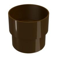 Mufa pentru burlan Regenau, PVC, circulara, maro, 100 mm