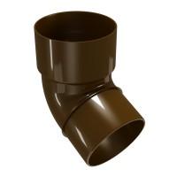 Cot burlan Regenau, PVC, maro, circular, D 100 mm, 67.5 grade