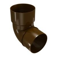 Cot burlan Regenau, PVC, maro, circular, D 100 mm, 87.5 grade