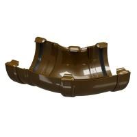 Coltar universal Regenau, 60-160 grade, PVC, semicircular, maro, 100/80 mm