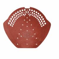 Placuta PVC pentru inchidere coama, Bramac, brun roscat inchis