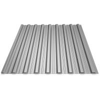 Tabla cutata, T18, argintiu (RAL 9006), 0.45 mm