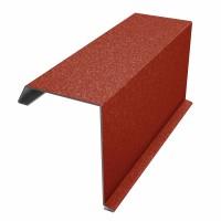 Bordura fronton Bilka rosu GrandeMat (RAL 3011) 2000 x 312.5 x 0.5 mm